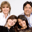 Stock Photo: Latin americfamily