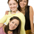 Beautiful female friends - Stock Photo