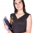 Beautiful female student — Stock Photo #7705544