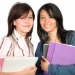Beautiful female students — Stock Photo