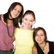 Beautiful female friends — Stock Photo #7705555