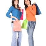 Girls shopping — Stock Photo #7705802