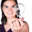 Stock Photo: Bright ideas