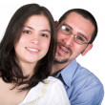 Beautiful happy couple — Stock Photo