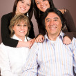 Happy latin american family — Stock Photo