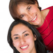 Beautiful mother and daugther — Stock Photo