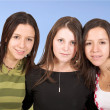 Stock Photo: Beautiful female girls