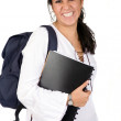 Beautiful student — Stock Photo