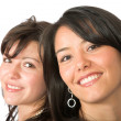 Stock Photo: Beautiful latin sisters
