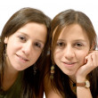 Beautiful female twins — Stock Photo #7706083
