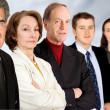 Business man and his team — Stock Photo #7706139