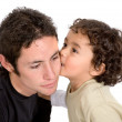 Brothers affection - Stock Photo