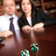 Business gamblers — Stock Photo