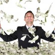 Business millionaire — Stock Photo
