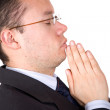Business prayers - Stock Photo