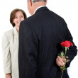 Stock Photo: Business romance