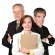 Senior Business Team — Stock Photo