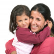 Beautiful mother and daughter — Stock Photo #7706485