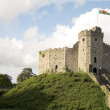 Stock Photo: Cardiff castle 2