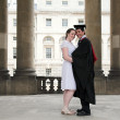 Graduate and his partner — Stock Photo #7706561