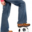 Stock Photo: Casual soccer
