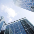 Stock Photo: Corporate buildings towards sky 3