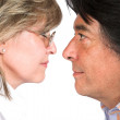 Stock Photo: Face to face love