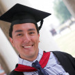Stock Photo: Happy graduate
