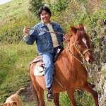 Horse rider — Stock Photo #7706868