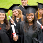 Graduation group — Stock Photo #7707121