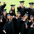 Happy graduation students — Stock Photo #7707136