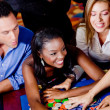 Casino players — Stock Photo #7707181