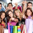 amici dello shopping — Foto Stock #7707193