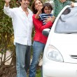 Family car — Stock Photo #7707327
