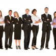 Large business team — Stock Photo #7707350