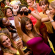 Friends partying - Stock Photo