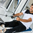 Man exercising - Foto Stock