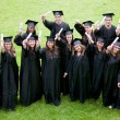 Happy graduation students — Stock Photo #7707501