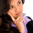 Pensive business woman — Stock Photo #7707569