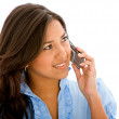 Woman on the phone — Stock Photo #7707592