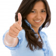 Thumbs up — Stock Photo #7707597