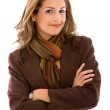 Arms crossed businesswoman — Stock Photo #7707635