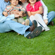 Beautiful family portrait — Stock Photo #7707945