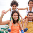 Family having fun — Stock Photo #7707970