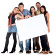 Banner ad - happy friends — Stock Photo #7708032