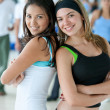 Stock Photo: Women at gym