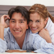 Stock Photo: Couple's portrait