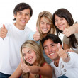 Friends - Thumbs up — Stock Photo #7708253