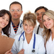Group of doctors — Stock Photo #7708267