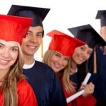 Graduation group — Stock Photo #7708273